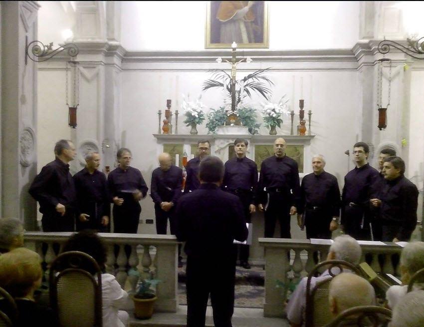 Foto dei coristi