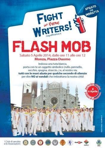 Locandina flash mob