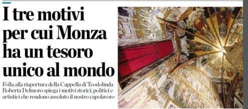 I tre motivi per cui Monza ha un tesoro unico al Mondo
